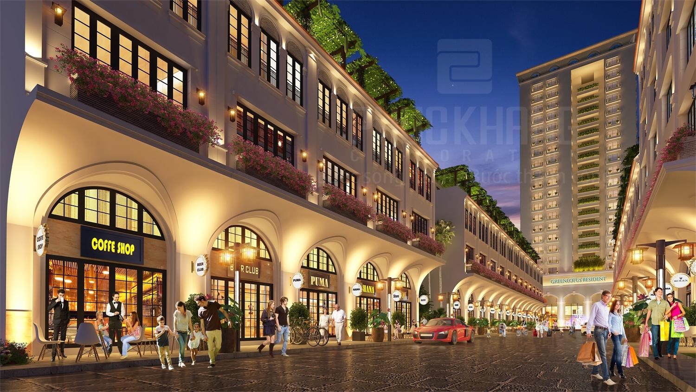 Green Lotus Resident - Nhà phố thương mại mặt tiền Phan Anh, Tân Phú