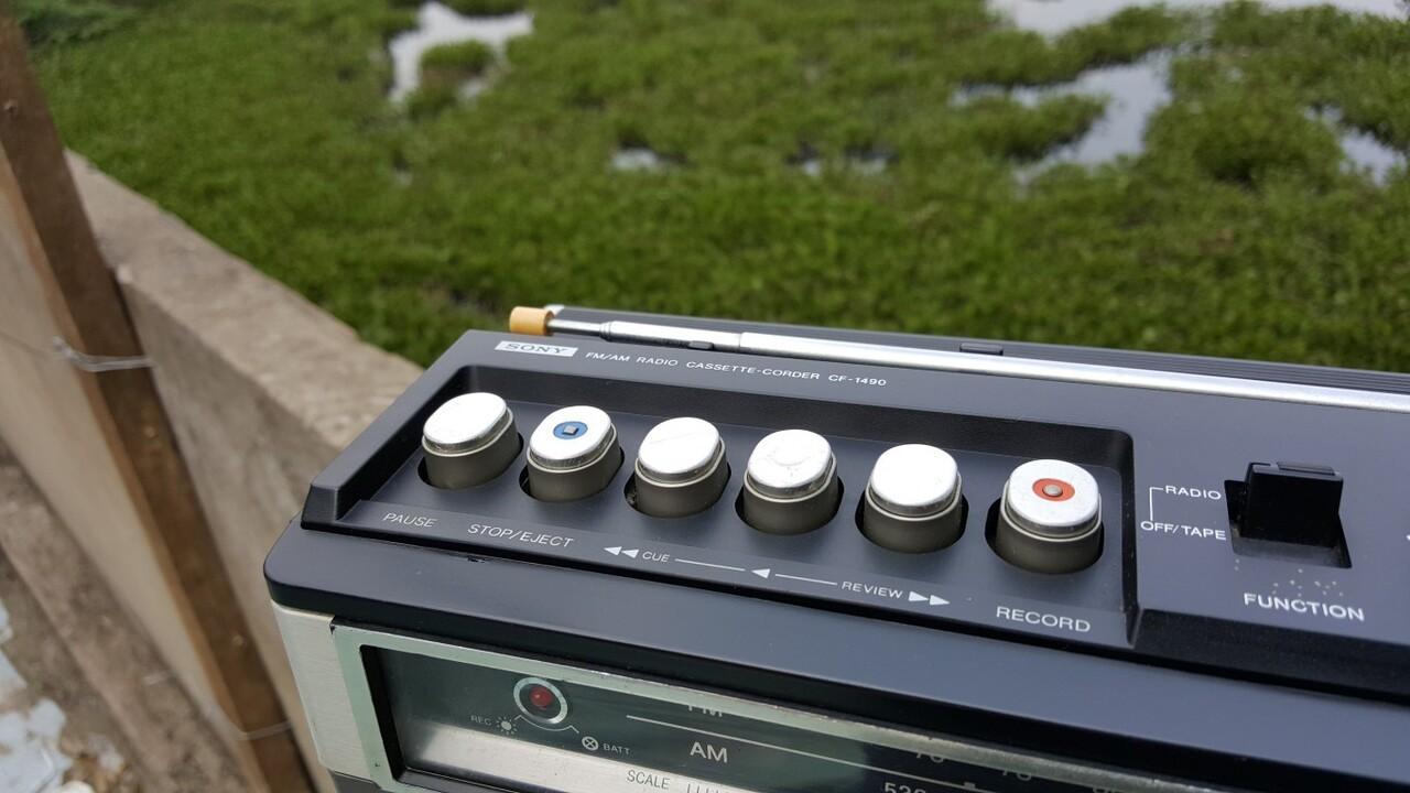Radio Cassette Corder Sony CF-1490 - 1 500 000 - Quận Thủ Đức