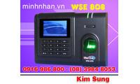 Máy chấm công vân tay WSE 808, tặng phần mềm wise eye on39