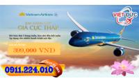 Vé khuyến mãi Vietnam Airlines từ Hà Nội đi Chu Lai