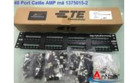 Thanh đấu nối patchpanel 48port cat6 mã 1375015-2 hãng AMP