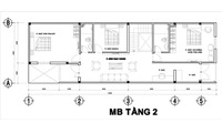 Thiết kế nhà 2 tầng cho gia đình