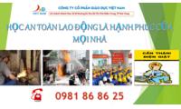 Đào tạo huấn luyện an toàn lao động Nha Trang, Hà Nội, Hồ Chí Minh