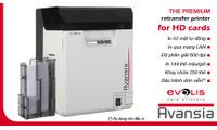 Máy in thẻ  nhựa Evolis Avansia - Retransfer 600DPI