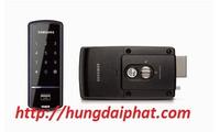 Khóa cửa không tay cầm Samsung SHS-2320XMK/EN