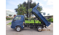 Dòng xe Ben nhẹ 990kg, Ấn Độ di chuyển trong nội thành