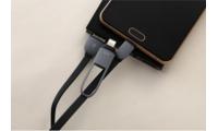Cáp sạc 2 đầu cao cấp dùng được cho tất cả các dòng Smartphone