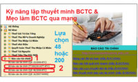 Nhận làm BC thuế, BCTC tại Đà Nẵng giá rẻ 0903595781