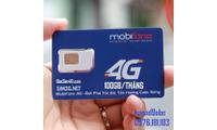 Sim 4G Mobifone 100GB/tháng nghe gọi thoải mái - Giá rẻ