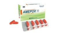 Viên uống trị nám, sạm da và điều trị rụng tóc Amepox