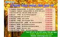 Du lịch Hàn Quốc mùa thu giá rẻ