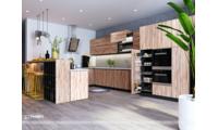 Thiên Furniture - Thiết kế tủ bếp ở Vinhomes Thăng Long
