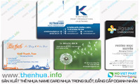 Địa điểm sản xuất các loại thẻ từ trắng, sản xuất công nghệ cao