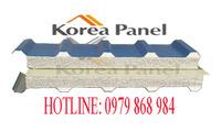 Panel EPS lợp mái chống cháy lan công nghệ Hàn Quốc