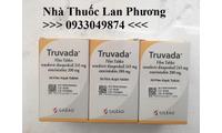Thuốc Truvada chống phơi nhiễm HIV emtricitabine 200mg tenofovir 245mg