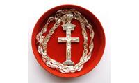 Tượng Thiên Chúa ba ngôi đúc từ bạc dành cho nữ giá rẻ