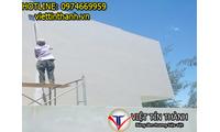 Các loại vật liệu chống thấm tường nhà hiệu quả
