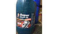 Dầu động cơ Caltex Super Diesel Oil SAE 20W50 25L