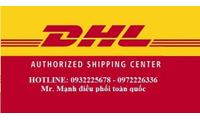 Chuyển phát nhanh DHL Bình Dương đi Quốc tế