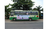 Quảng cáo trên thân xe buýt, taxi