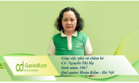 Tìm giúp việc chăm sóc người Việt định cư ở nước ngoài