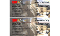 Địa chỉ dán phim cách nhiệt ô tô 3M giá gốc hệ thốngViệt Thái Auto