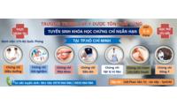Khóa học châm cứu xoa bóp bấm huyệt cấp tốc TpHCM