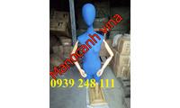 Manocanh tay gỗ giá rẻ mặc đầm dạ hội