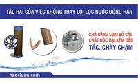 Thay Lõi Lọc Máy Lọc Nước Tại Kim Mã, Hà Nội