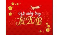 Đặt mua vé máy bay Tết Mậu Tuất 2018 giá rẻ của hãng hàng không Vietjet