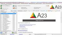 Phần mềm gửi email hàng loạt A23 Email Marketing