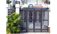 Mẫu cửa cổng sắt tại nhà TPHCM