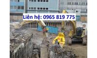 Dịch vụ phá dỡ công trình nhà cũ giá tốt Thịnh Phát TPHCM