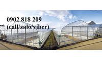 Lưới chắn côn trùng quây vườn rau sạch, lưới nhà kính