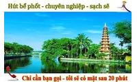 Thông tắc bồn cầu, chậu rửa giá rẻ tại Cổ Nhuế Hà Nội