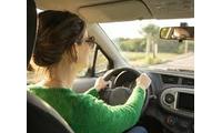 Nữ lái xe tìm việc