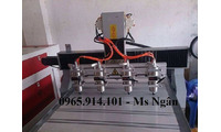 Máy cnc 8090- 4 đầu nhập khẩu nguyên chiếc, giá rẻ