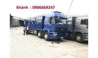 Xe tải thùng 4 chân shacman nhập khẩu nguyên chiếc chất lượng hàng đầu