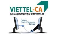 Chữ ký số Viettel - Ca giá rẻ - Tặng USB - Chiết khấu 600k