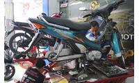 Tuyển thợ + Phụ sửa chữa xe máy
