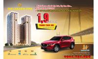 CH The Golden Star Q7 cam kết lời 12%, CK 4%, full nội thất, nhận xe Mazda Cx5