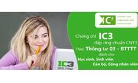 Luyện thi chứng chỉ IC3 - Thông tư 03 của BTTTT