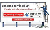 Thuê xe chở hàng Gò Vấp, Hóc Môn, Bình Chánh, nhận dọn nhà