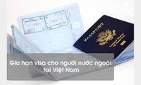 Gia hạn visa Việt Nam cho khách nước ngoài