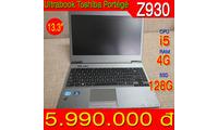 Ultrabook Toshiba Portege Z930 i5 3427M ram 4G ssd 128G