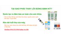 Thay lõi lọc máy lọc nước tại Hà Đông 094.353.9969