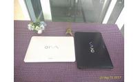 Laptop Sony VaiO SVF15 màu trắng đen sang trọng