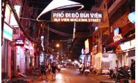 Cho thuê nhà góc 2 mặt tiền đường Bùi Viện, P. Phạm Ngũ Lão, Quận 1