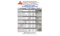 Bảng giá Cáp tín hiệu/ Cáp mạng/ Cáp báo cháy/ Cáp thang máy