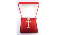 Tượng Thiên Chúa ba ngôi cao sang đúc từ bạc khối giá 1,5 triệu